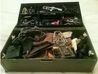 Action Man Ammo Box full of clothes and equipment
