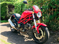 DUACATI MONSTER M695 2007,1060 MILES ONLY!!! 1 year MOT Classic Italian