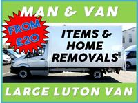 MAN & VAN / HOME REMOVAL SERVICE, HOUSE REMOVALS, FURNITURE, BEDROOM, KITCHEN GOODS DELIVERY