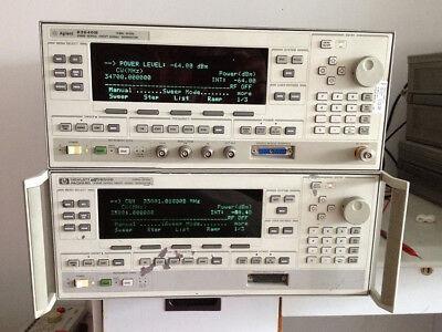 Agilenthpkeysight 83640b Synthesized Swept-signal Generator 10mhz 0.01 - 40ghz