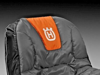"Husqvarna Tractor Riding Mower Protective Cushion 15"" Water Repellent Seat Cover"