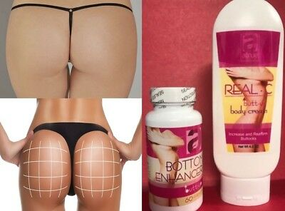 New Best Booty PILLS Butt Enlargement Enhancement Buttocks Capsules + (Best Butt Enhancement Cream)