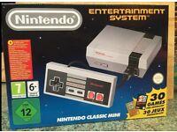 Nintendo mini classic retro games entertainment system console boxed