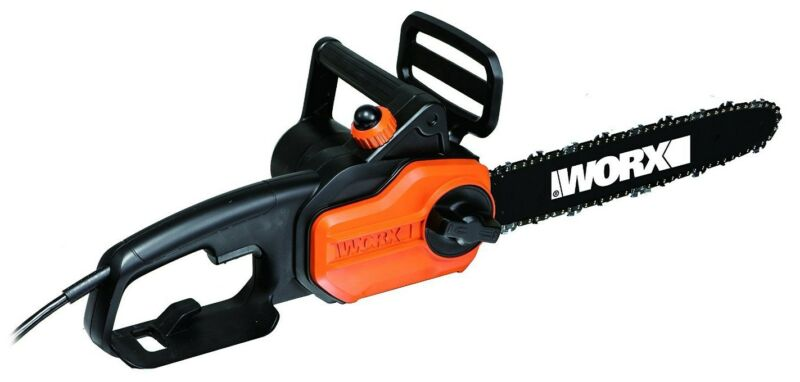 """WORX WG305.1 8 Amp 14"""" Electric Chainsaw with Auto-Tension"""