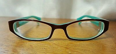 ProDesign Denmark Designer Eye Glasses Frames Burgundy Turquoise Teal Japan