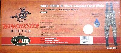 WINCHESTER CAMO WOLF CREEK II CHEST WADER ADVANTAGE MAX-4 CAMOFLAUGE MENS SIZE 8 Advantage Max 4 Waders