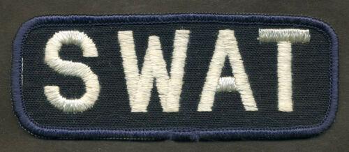 SWAT Patch - Dark Blue/White  L301