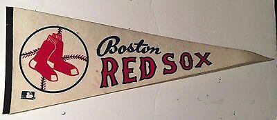 Vintage 1970's Boston Red Sox Full Size Felt Pennant