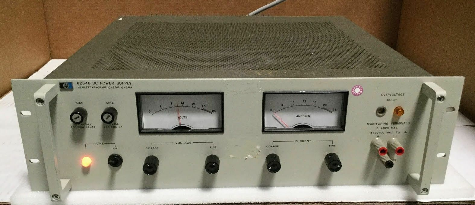 Hp 6264b Dc Variable Power Supply 20v 20a Ebay Adjustable Voltage 0 At 1a