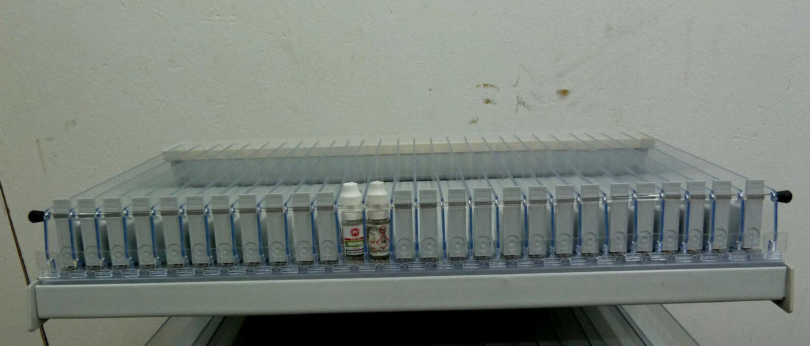 Scaffale e-sigaretta M PUSHER 27 scompartimenti 66,5x37 cm per e liquido