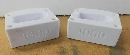 TurboSound- iP1000-series- White Pin-Protectors for a pair of  speakers