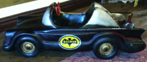 Antique Vintage 1966 BATMOBILE Coin Operated Kiddie Ride - Vehicle Only - RARE!!