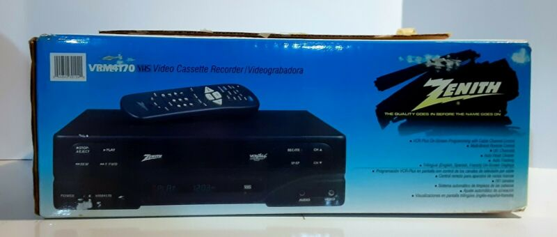 Zenith VRM4170 vcr plus with remote control
