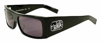 Black Flys Fly Detector Shiny Black Frame, Polar. Sunglasses FREE PRIORITY SHIP