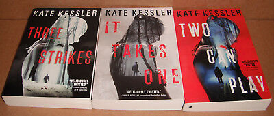 An Audrey Harte Novel Vol. 1,2,3 by Kate Kessler and Kate Graham Paperback
