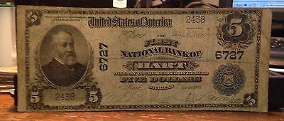 Hart  Michigan   First National Bank   1902