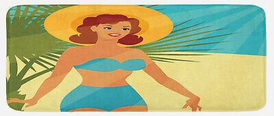 Pin up Girl Küchenmatte Bikini im Stil der 50er Jahre