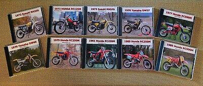 Works Bike CD Photo Set - SAVE BIG and buy the set. HRC RH OW 0W RC ahrma