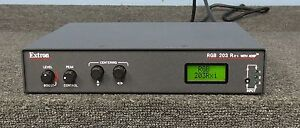 Extron RGB 203 Rxi Universal Computer-Video & Audio Interface w/ ADSP *WARRANTY*