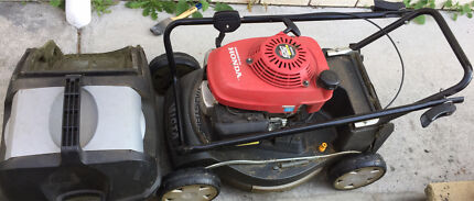 Victa lawn mower with Honda engine