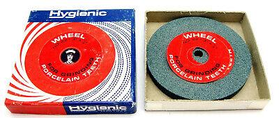 Vintage Hygienic Abrasive Wheel For Grinding Porcelain Denture Teeth Nos