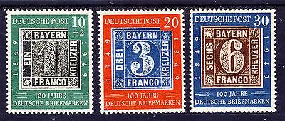 Bund 1949 MiNr 113-115  Fälschung
