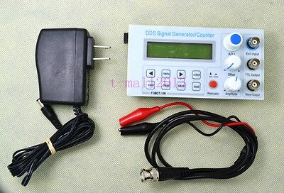 10mhz Dds Function Signal Generator Frequency Counter Square Wave Sweep Bnc Ttl