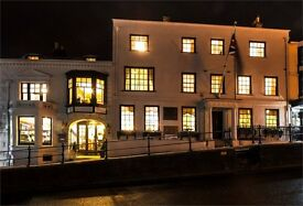 Live in Front of House Staff (Bar or Waiting) required at Stanwell House Boutique Hotel