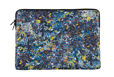 NEW JACKSON POLLOCK × SYNC. MEDICOM TOY NOTE PC CASE for 13inch Laptop Notebook