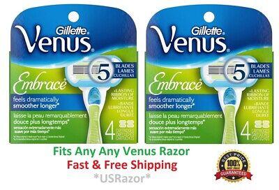 8 Gillette Venus Embrace Razor Blades Refills Cartridges Fit Olay Swirl Shaver - Gillette Venus Embrace Cartridge