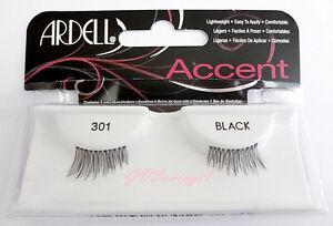 NIB-Ardell-ACCENTS-LASHES-301-HALF-LASH-Eyelashes-Black-Lash-Eyelash-Doll