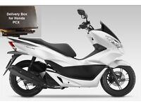 Motorcycle delivery box for Honda PCX