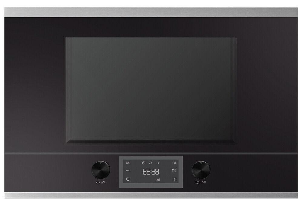 Küppersbusch MR 6330.0S1 Einbau-Mikrowelle Rechtsanschlag schwarz/Edelstahl