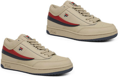 Men FILA Original T-1 MID   CREAM/PEACOAT/RED  1vt034lx-193