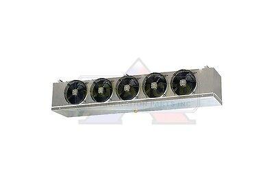 Low Profile Walk-in Freezer Evaporator 5 Fans Blower 24000 Btu 3500 Cfm 220v