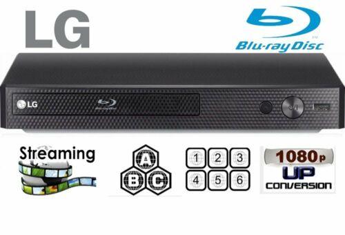 LG BP175 Refurbished REGION FREE BLU-RAY DVD PLAYER ZONE A B C DVD 0-8 USB