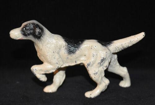 Hubley English Setter Pointer Dog Figurine Cast Iron #1