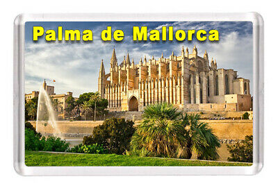"Palma de Mallorca Fridge Magnet Travel Souvenir 3""x2"" Spain"