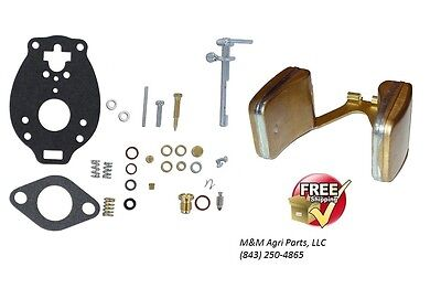 Carburetor Kit Float Ford Naa Jubilee 501 600 601 700 701 800 900 4000 Tractor