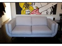 Grey fabric Sofa 2-3 seater
