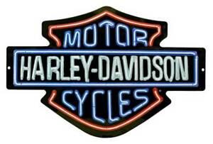 Harley Davidson Neon Sign Ebay