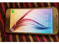 Gold Samsung galaxy s6 32gb