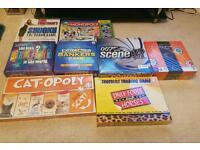 22 brand new sealed jigsaw and board games includes rare cat-opoly