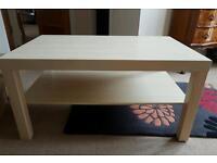 Ikea Lack Birch coffee table for sale