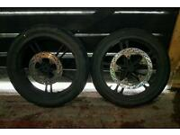 yzf r125 wheels front and rear