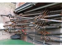 Ornate railing spindles