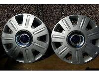 Ford Mondeo MK3 Original Wheel Trims from a 2004 (2000 - 2007)