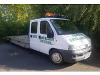 Peugeot boxter recovery