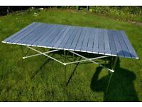 Roll up Aluminium Camping Table