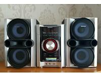 SONY HI-FI system with ipod docking and remote.